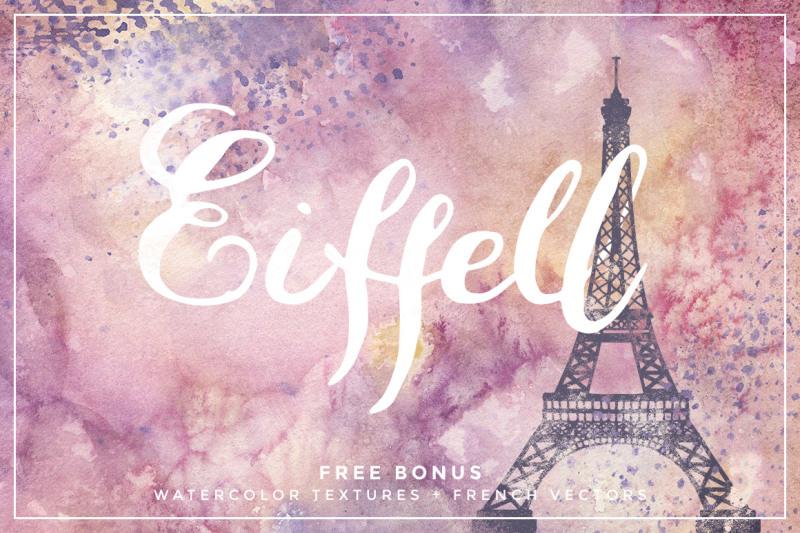 eiffell-brush-script-font-extras
