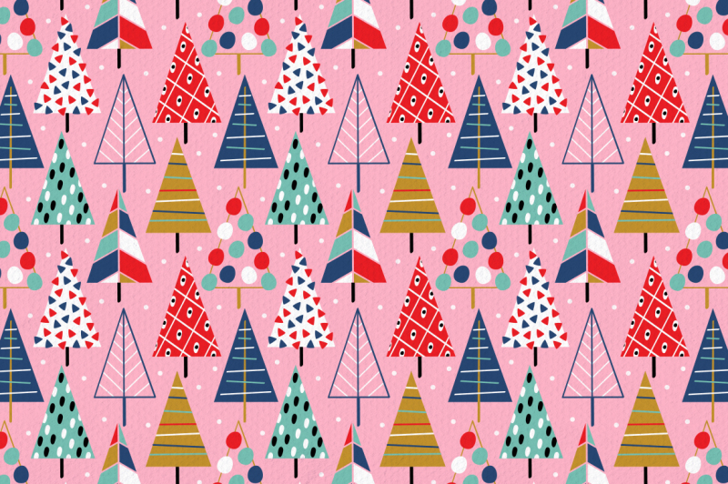 christmas-decorations-pattern-collection