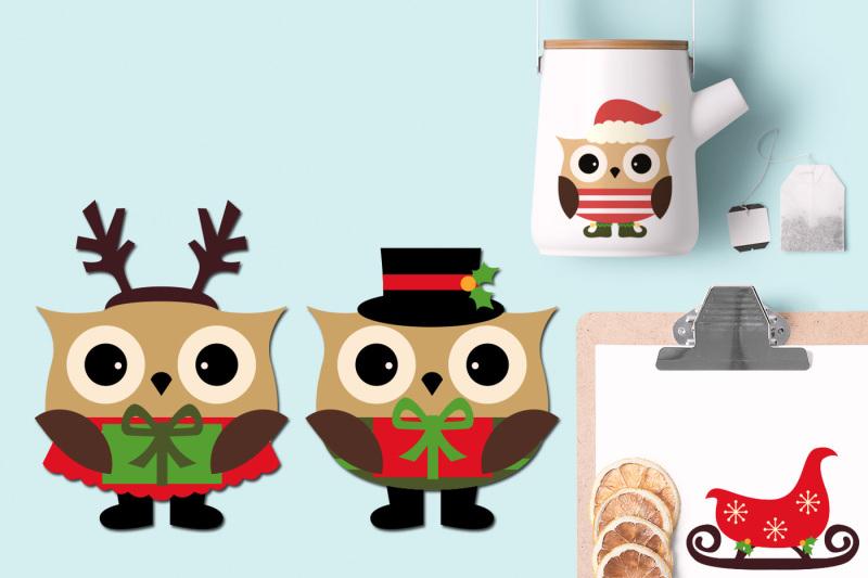 christmas-owls