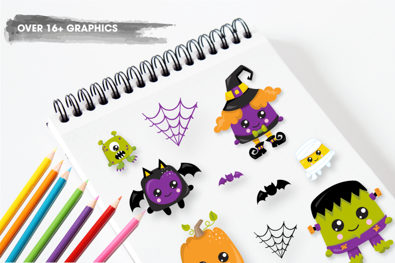 halloween-creatures-graphics-and-illustrations