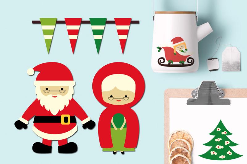 christmas-santa-and-mrs-claus
