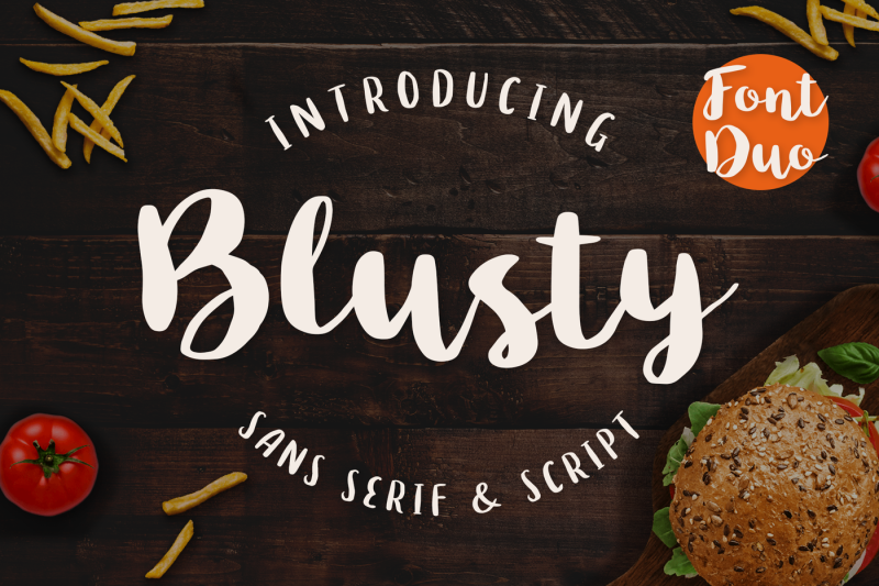 blusty-font-duo