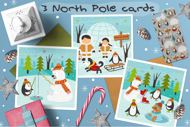 north-pole-and-merry-christmas