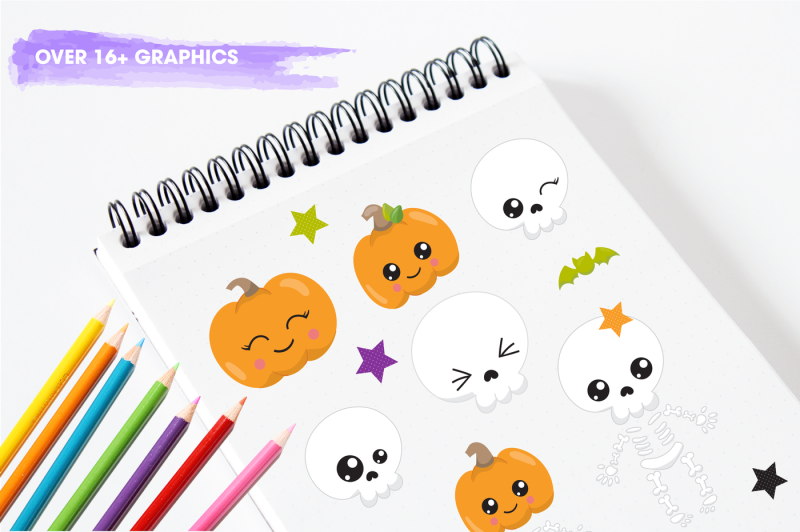 halloween-skulls-graphics-and-illustrations