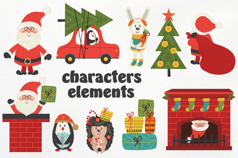 christmas-characters-collection