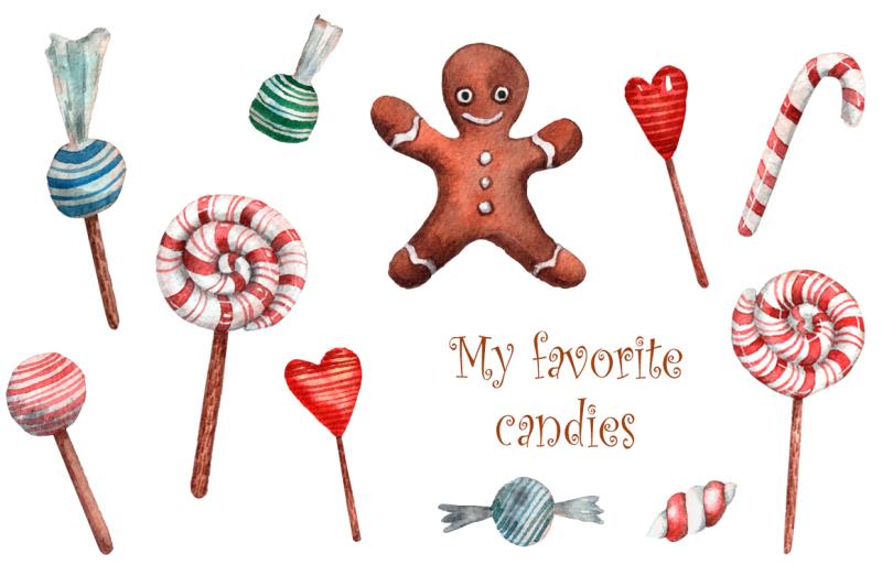 santa-s-little-helpers-watercolor-clip-art-set