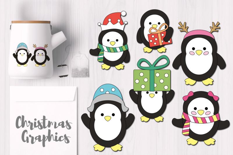 cute-christmas-penguins