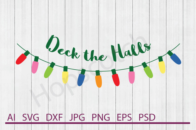 christmas-lights-svg-christmas-lights-dxf-cuttable-file