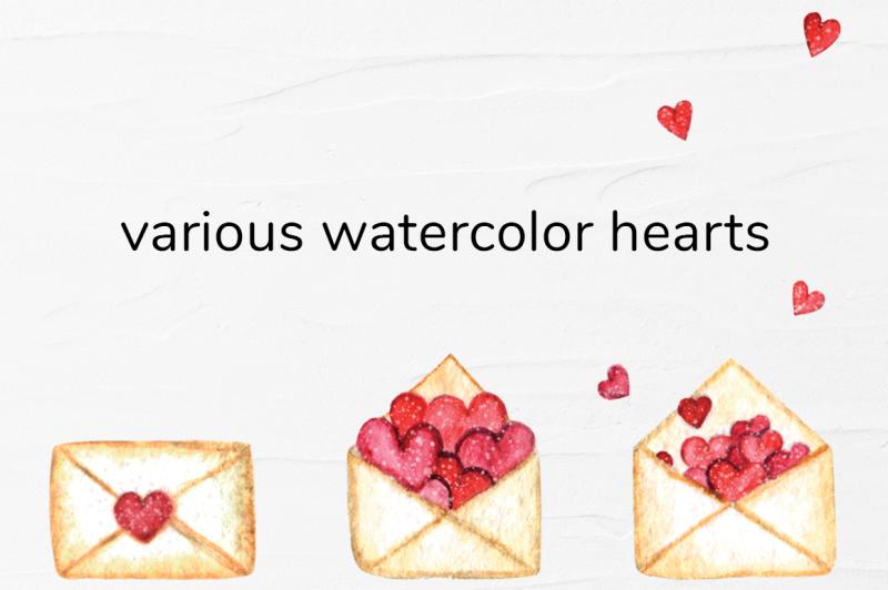 watercolor-valentine