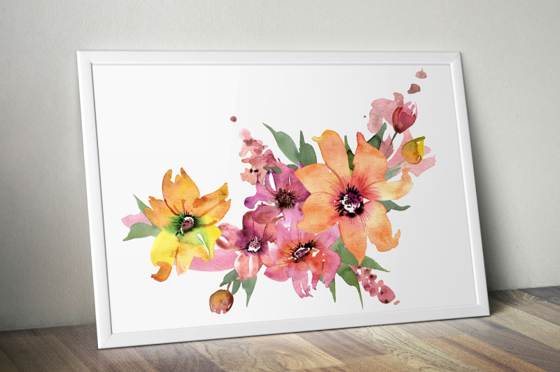 cute-watercolor-flowers