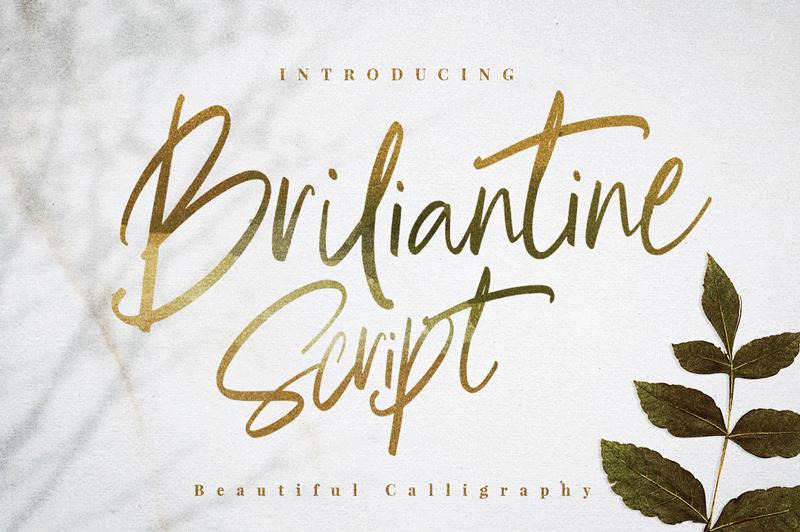 briliantine-script