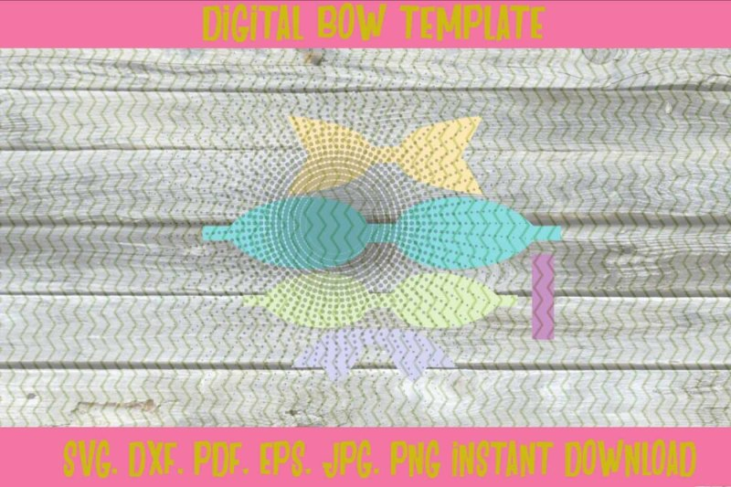 3d-stacked-hair-bow-template