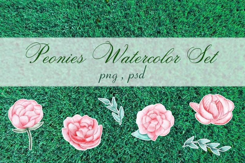 watercolor-peonies