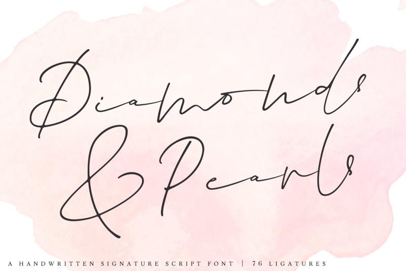 diamonds-amp-pearls-a-handwritten-signature-script