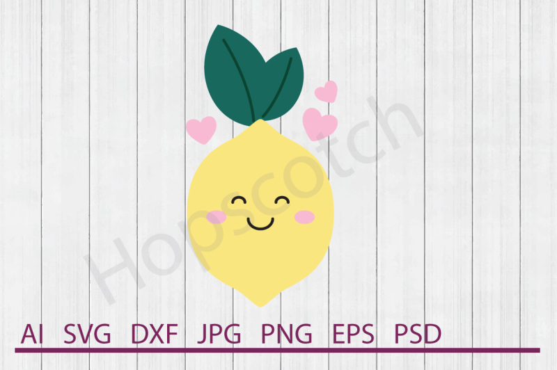 lemon-svg-lemon-dxf-cuttable-file