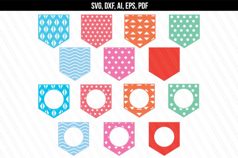 pocket-svg-dxf-monogram-pocket-svg-cut-files