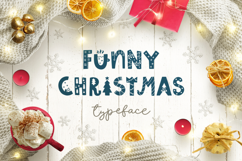 funny-christmas-typeface