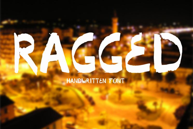 ragged-handwritten-font