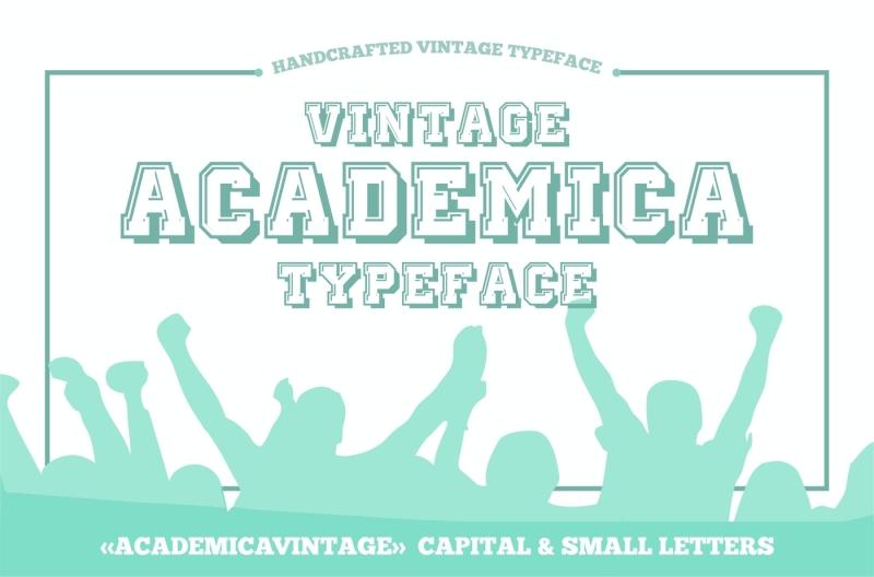 vintage-academic-typeface