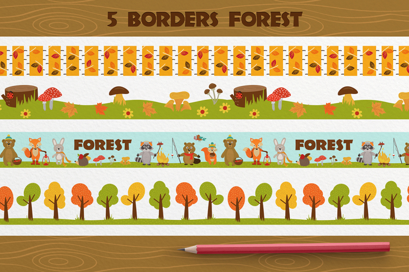 set-animals-of-forest