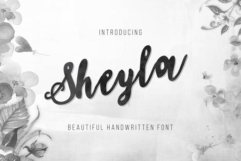 sheyla-amazing-handwriting-font