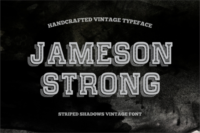 jameson-strong-covered-striped-shadow-vintage-typeface