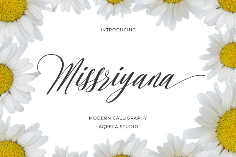 missriyana-script