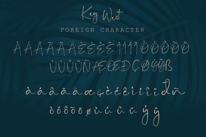key-west-script-font
