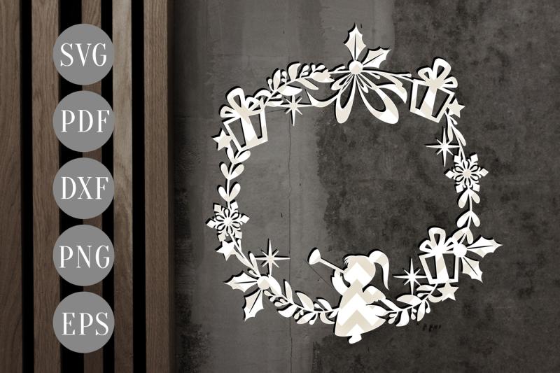 christmas-wreath-papercut-cutting-file-winter-svg-xmas-template-pdf