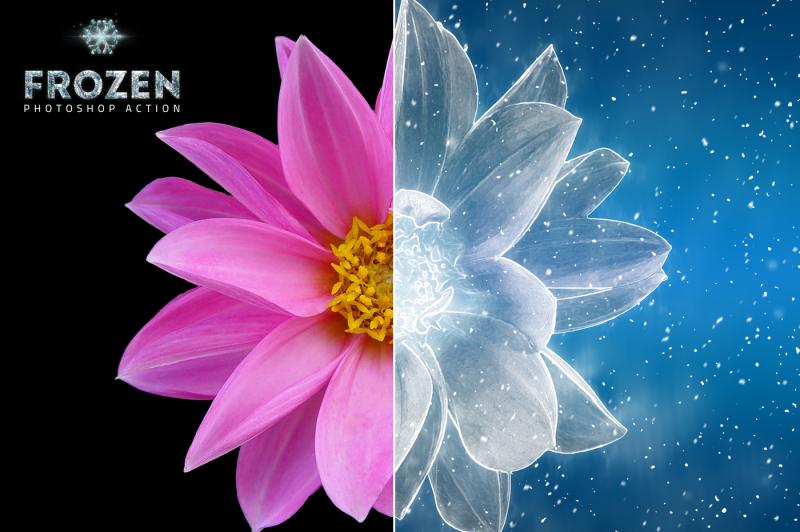 frozen-ice-photo-effect