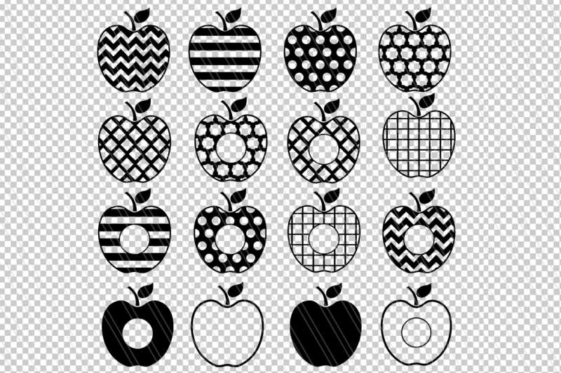 apple-svg-dxf-clipart-teacher-svg-monogram-cutting-files