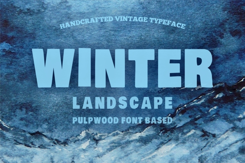 winter-poster-covered-pulpwood-font