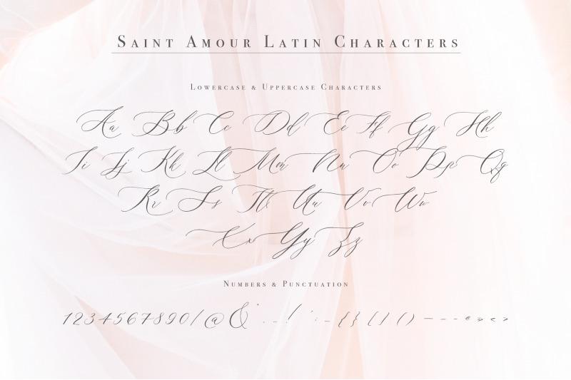 saint-amour-script