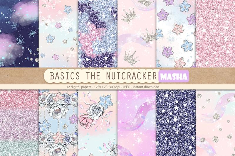 the-nutcracker-basic-digital-papers
