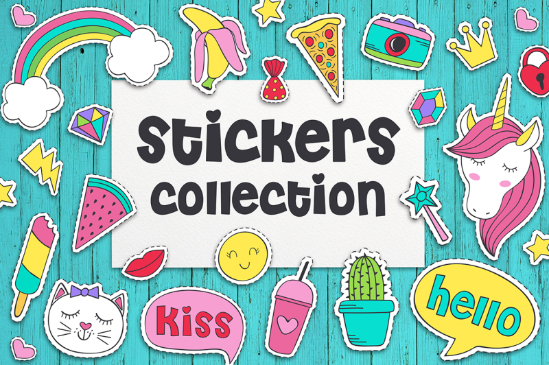 stickers-collection-for-girl