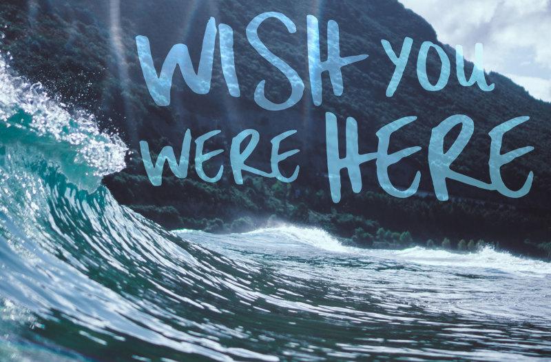Surf Up - A Handbrush Font By Christine Teixeira
