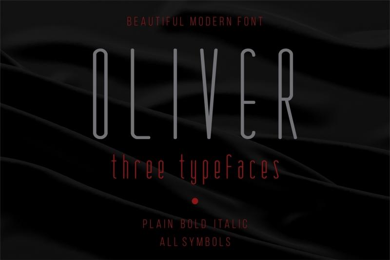 oliver-modern-font-three-versions