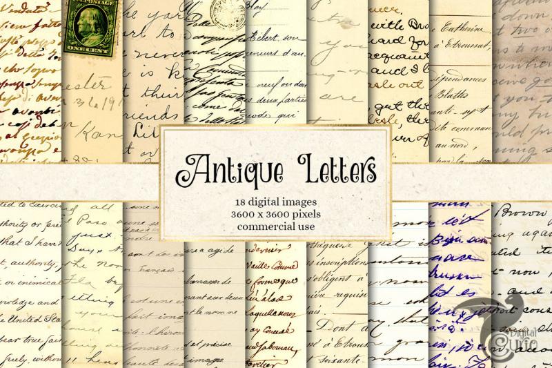 antique-letters-digital-paper