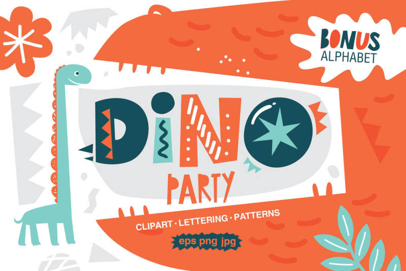 dino-party-graphic-set