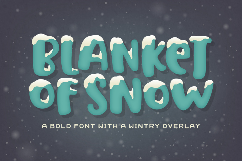 blanket-of-snow-font