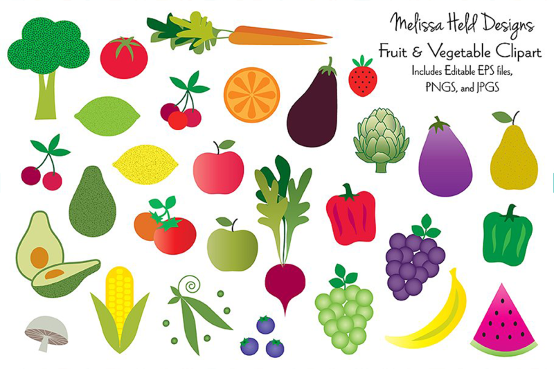 fruits-and-vegetables-clipart