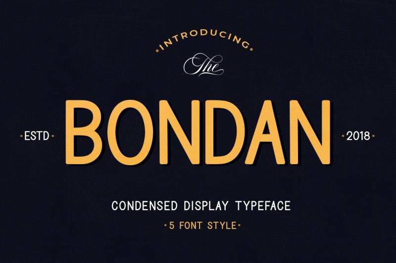 bondan-typeface