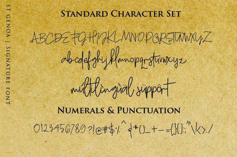 st-genoa-luxury-signature-font