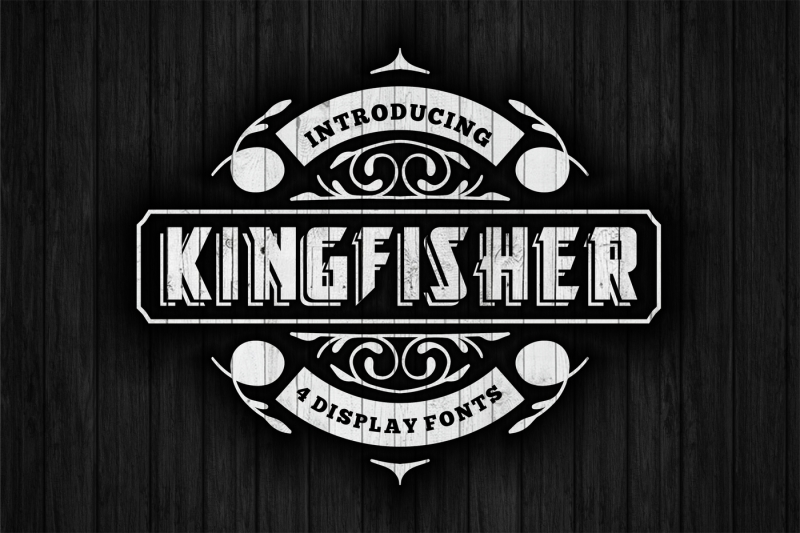 kingfisher-display-font-in-4-versions