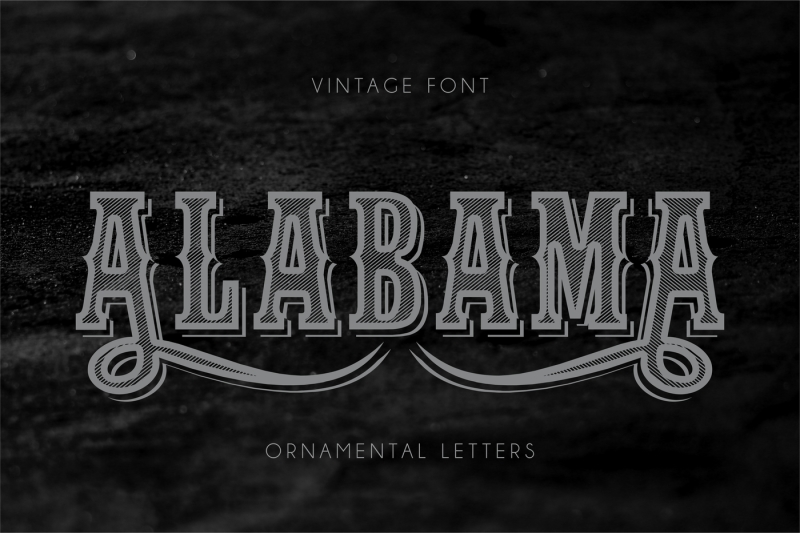 reserve-vintage-font-with-ornaments