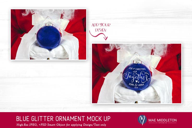 christmas-mock-up-santa-039-s-blue-glitter-ornament