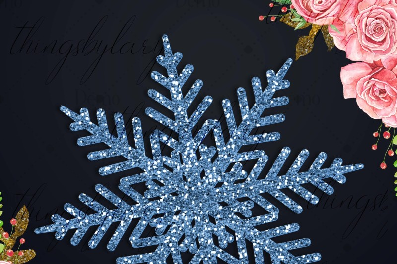 100-glitter-snowflakes-christmas-new-year-party-clip-arts