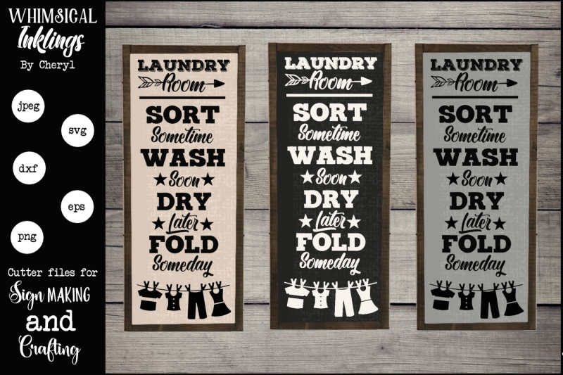 sort-wash-dry-fold-laundry-room-svg