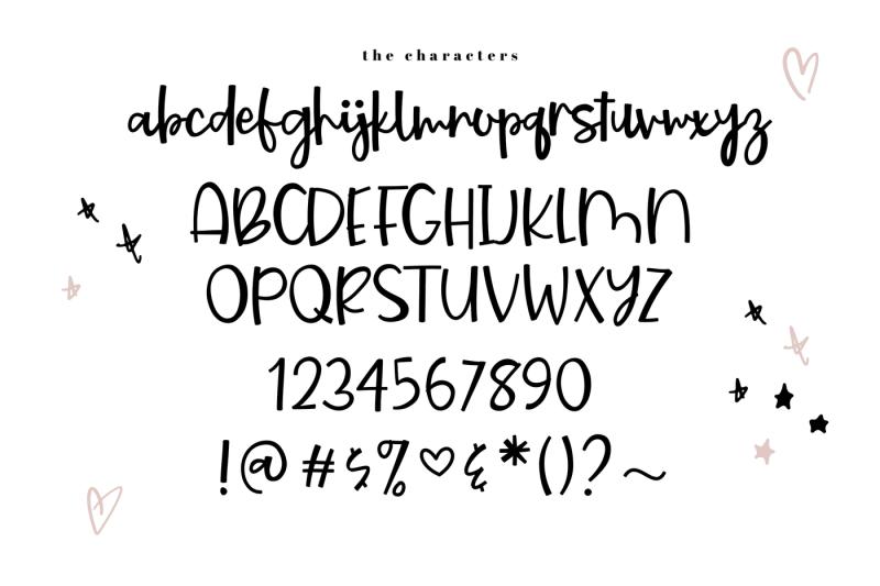 starburst-a-bold-handwritten-script-font