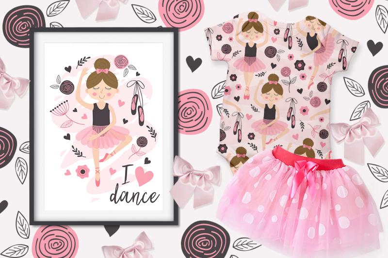 ballerina-girl-beautiful-set